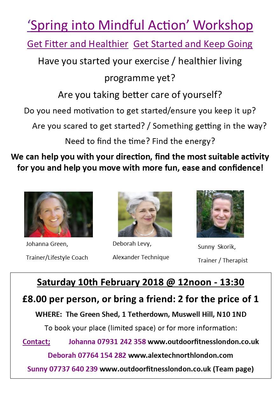 'Spring into Mindful Action' Workshop